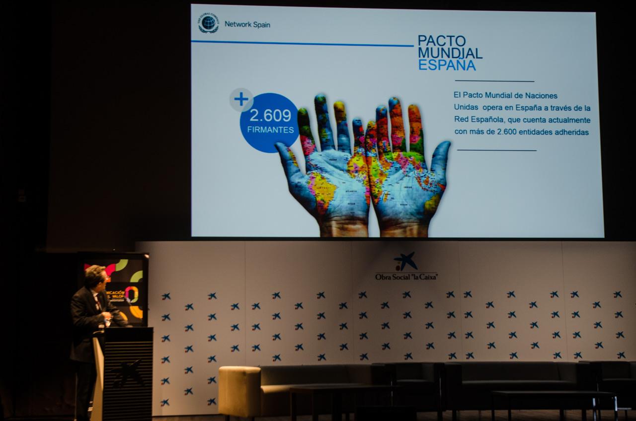 Pacto Mundial en las Jornadas de Responsabilidad Social Corporativa LA COMUNICACIÓN DEL VALOR